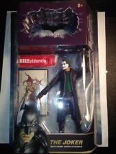 Batman Movie The Dark Knight figure The Joker with Crime Scene Evidence unopened