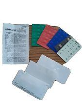 ADEMCO WIRELESS KEYFOB 5804 / EXTRA COLORED LABELS AND BUTTONS ONLY