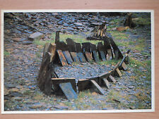 Art Postcard Diane Maclean, Slate Sculpture 13foot (Slide Library) postmark 1991