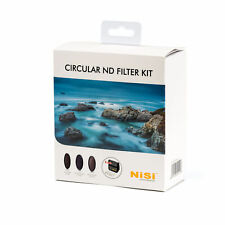 NiSi 77mm Circular Nd Filter Kit ( Nd8 Nd64&cpl Nd1000 Pouch ) for Camera