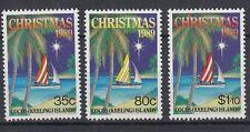 Cocos Islands 1989 Natale 207-09  MNH