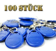 100x RFID Transponder Codeschloss Keyfob Schlüsselanhänger 64Byte 125Khz EM4100