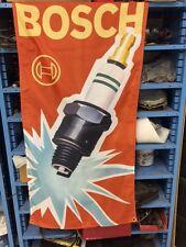 Bosch Spark Plug Flag ~ artdeco bmw porsche vw audi 356 2002 alpina ruf m3 kdf