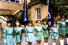 12x 35mm slides 1960's boys brigade ,girl guides childrens sports day etc set2
