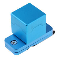 30x30x30mm Pocket Pool Chalk Holder Slip-In Pocket Cue Stick Chalker Box