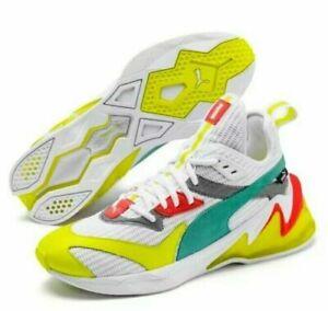 Puma LQDCELL Origin Size 13 Men White/Yellow Alert Shoes