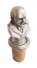 Winston Churchill Cork & Pewter Wine or Spirit Bottle Stopper