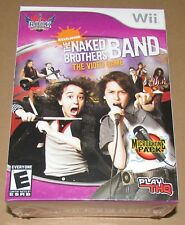 The Naked Brothers Band Microphone Pack (Nintendo Wii) Brand New / Fast Shipping