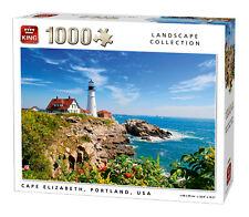 1000 Pièces Landscape Puzzle Cap Elizabeth Portland USA Phare 05709