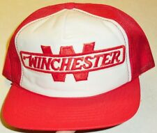 WINCHESTER Rifle Arms Ammunition Vintage 80s Snapback hat (Mesh Sides & Back) Br