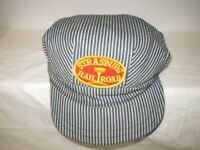 Vintage Strasburg Railroad Engineer/Conductor Pinstripe Cap