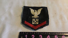 ~Vintage  US Military Naval Patch Eagle & Crossed Anchors Design~