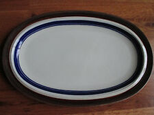 """Goebel DOMAINE 14 1/2"""" Oval Platter W. Germany Oeslauer Manf 1972 - 1979 Exc Cnd"""