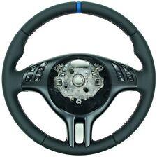 Perfo Nppa 12 Uhr blau  BMW E46 E39 X5 E53 Lenkrad Lederlenkrad neu beziehen