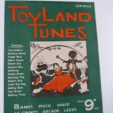 piano TOYLAND TUNES Gem No 68