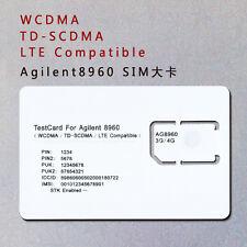 3G/4G Test SIM Card LTE-USIM CARD LD-LTE AG8960
