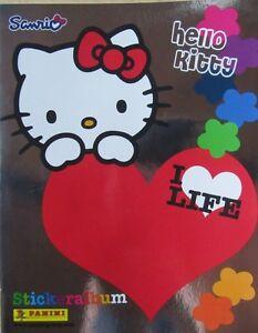Hello Kitty I Love Life/ Sticker-Album/ Empty Album /Panini /New