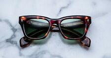 NUOVO OCCHIALI SOLE JACQUES MARIE MAGE MOD:DEALAN COL:HAVANA 5 LENSES: GREEN