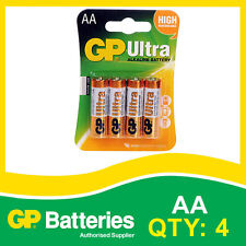 GP Ultra Alkaline AA Battery card of 4 [MP3, CAMERAS GAMES CONSOLES + OTHERS]