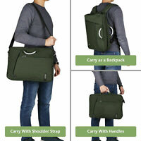 15.6 Inch Laptop Briefcase Backpack Large Capacity Roomy Messenger Shoulder Bags