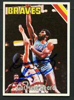 Garfield Heard #136 signed autograph auto 1975-76 Topps Basketball Trading Card