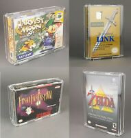 New Game Box-Köffin Display Case for Nintendo GameCube,NES,SNES or N64