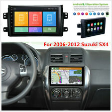 "9"" Android 9.1 Car GPS Navigation Stereo Radio WIFI BT DAB For 06-12 Suzuki SX4"