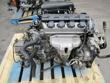 2001-2005 Honda Civic 4Cyl 1.7L VTEC Engine With Automatic Transmission JDM D17A