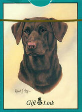 """""""CHOCOLATE LAB"""" Brown Labrador Dog Breed Poker Game Deck Of Playing Cards *NEW*"""