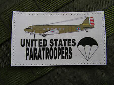 SNAKE PATCH - UNITED STATES PARATROOPERS C47 - WW2 para US normandy