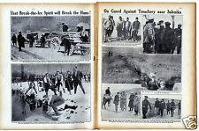 1916 WW1 Magazine VERDUN Greece Matania NORSEMAN TROOPSHIP 2800