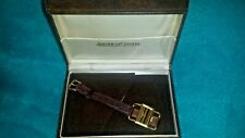 Hallmarked 18ct Gold Watch With Box Rare Vintage 1960s Jaeger Le coultre Ladies