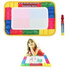 29x19cm Water Aqua Doodle Drawing Writing Mat Board & Magic Pen for Kids 2-5age