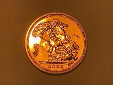 More details for 2003 gold half sovereign elizabeth ii. scarce. uncirculated