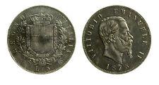 pcc1838_24) Regno Vittorio Emanuele II lire 5 scudo 1875 - TONED