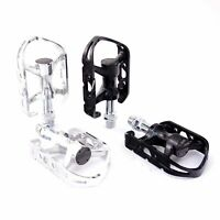 "MKS Allways EZY Quick Release Bike Platform Bicycle Pedals 9//16/"" Silver// Black"