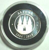 ALTONA 1664-2014 - 350 JAHRE STADTRECHTE Silber  MIT KAPSEL - pp PROOF