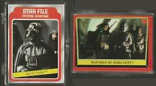 Star Wars: 90 different cards (Empire Strikes Back, Return of the Jedi, Galaxy).