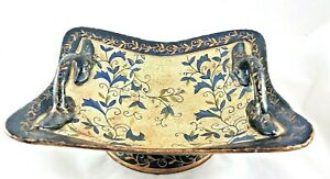 Asian Decorative Centerpiece Bowl w/ Handles