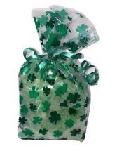(2) St. Patricks Day Shamrock Bath Salts Gift Bags