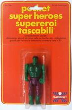 Super Rare MEGO POCKET HEROES HULK Action Figure MOC 1975 Italian Dist Harbert