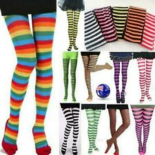 Women Girl Children Elf Xmas Bee Striped Pantyhose Tights Costume Stockings.