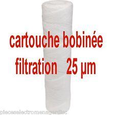 Filtre anti boue cartouche filtrante à eau 25 MICRONS