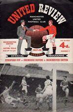 1957-58 - Manchester United v Aston Villa 5.10.1957