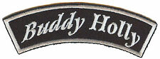 A1290 Applicazione Toppa Rockabilly Old Nuovo Scuola RocknRoll Sole Banner Buddy
