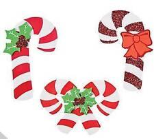 3 Candy Cane Foam Ornaments Craft Kit Christmas Gift Kid Christmas Fun