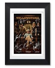 YELLOWSTONE CAST SIGNED POSTER PRINT TV SHOW SERIES PHOTO AUTOGRAPH GIFT COSTNER