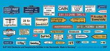 Peddinghaus 1/87 3433 deutsche und französische Schilder In der Normandie
