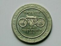 Deadwood SD 1997 Casino DOLLAR Token with Classic Indian Motorcycle for Sturgis