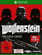 Xbox One Spiel Wolfenstein the New Order